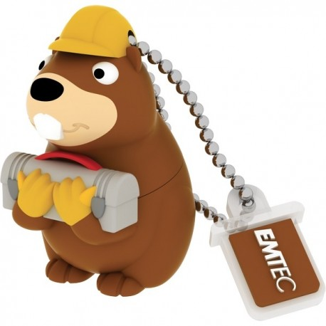 forest animals Beaver Flash Memory