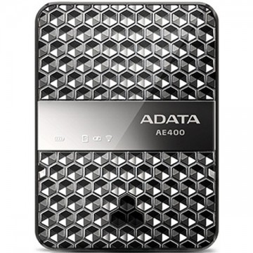 Adata DashDrive Air AE400 Wireless Storage Reader with Power Bank