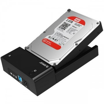 ORICO 6518SUS3 USB3.0 & eSATA 2.5 & 3.5 inch Hard Disk Drive Docking Station External Enclosure