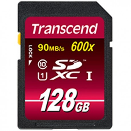 Transcend Ultimate SDXC Class 10 UHS-I 600x