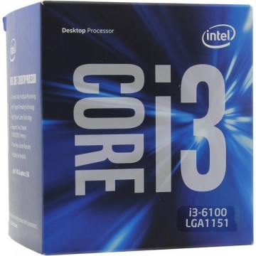 Intel Core i3-6100 Skylake Processor