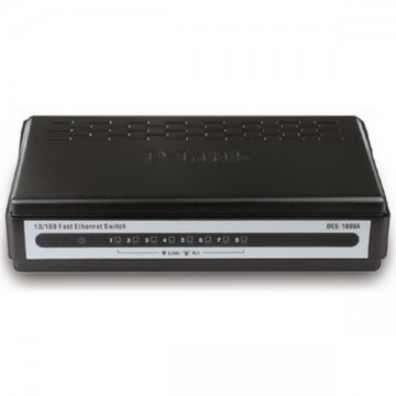 D-Link DES-1008A 8-port Switch