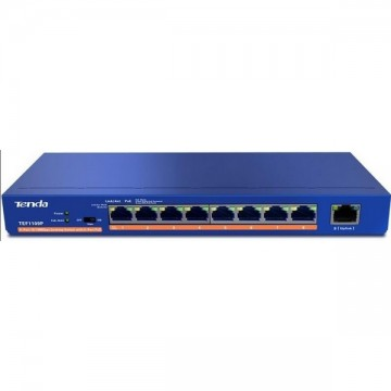 Tenda TEF1109P Unmanaged 9-port Switch