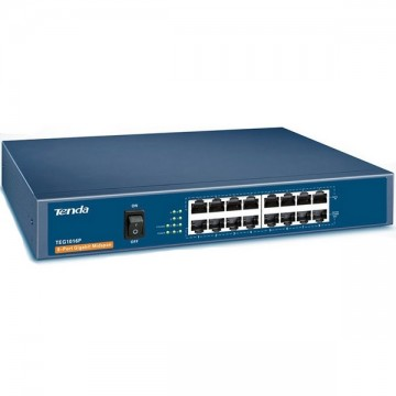 Tenda TEG1016P 16-port Switch