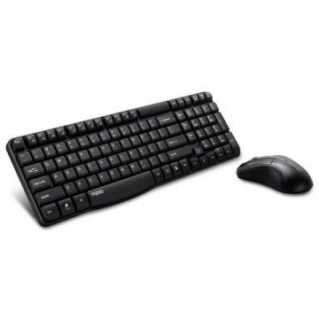 Rapoo 1860 Wireless Keyboard and Mouse