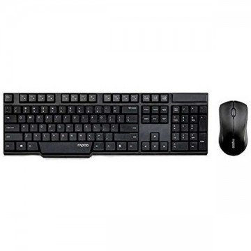Rapoo N1830 Wireless Keyboard and Mouse