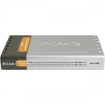 D-Link DES-1008F 7-port Switch