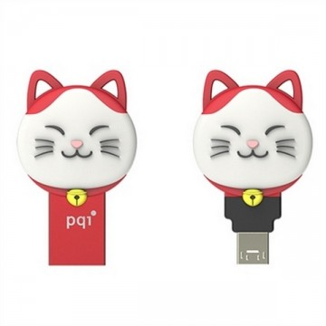 PQI Connect 303 Lucky Cat Flash Memory