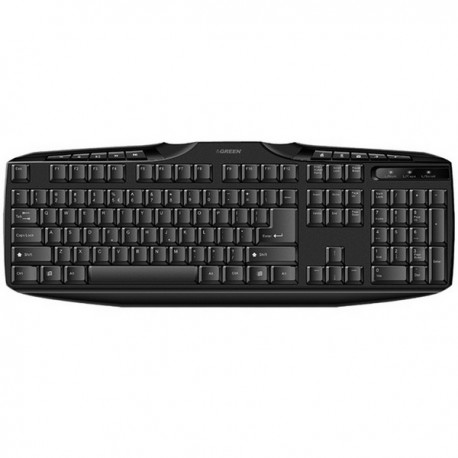Green GK-302 Standard Multimedia Keyboard