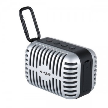 W-KING Microphone Mini Portable Wireless Speaker