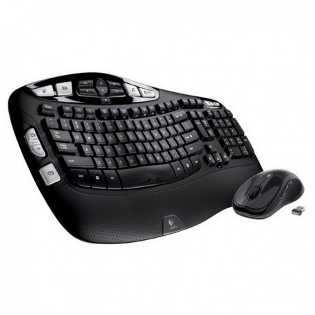 Logitech Wireless Wave Combo MK550 keyboard
