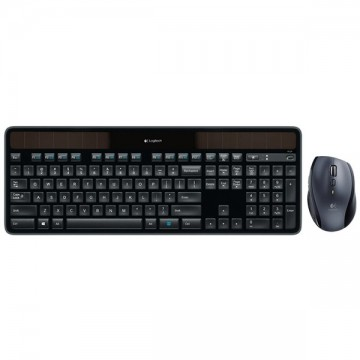 Logitech Wireless Solar Keyboard K750 & Marathon Mouse M705 Bundle