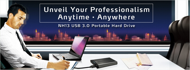 Adata NH13 Metallic Case USB 3.0